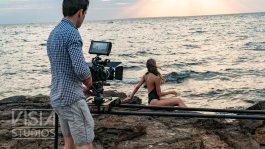 Michael Firus shooting a Fashion Film for Visia Studios